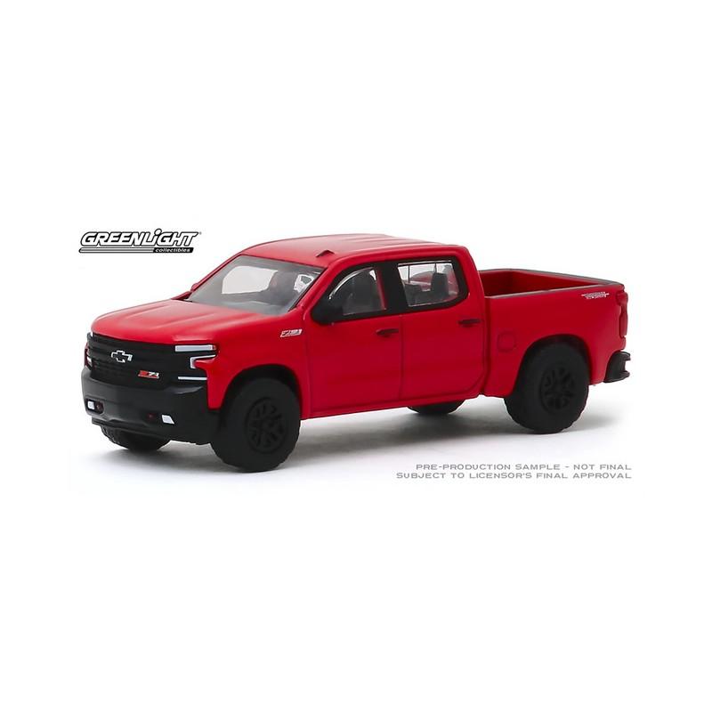 Greenlight 1:64 All Terrain Series 9 2019 Chevrolet Silverado LT Trail Boss Red