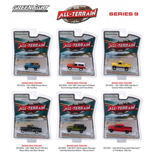 Greenlight All-Terrain Series 9 - Six Truck Set