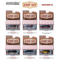 Greenlight The Hobby Shop Series 8 - Six Car Set
