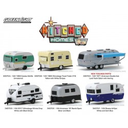Greenlight Hitched Homes Series 7 - Six Trailer Set