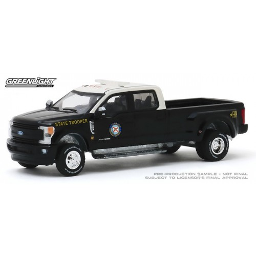 Greenlight Dually Drivers Series 3 - 2019 Ford F-350 Dually Florida Highway Patrol