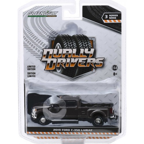Greenlight Dually Drivers Series 3 - 2019 Ford F-350 Lariat Dually