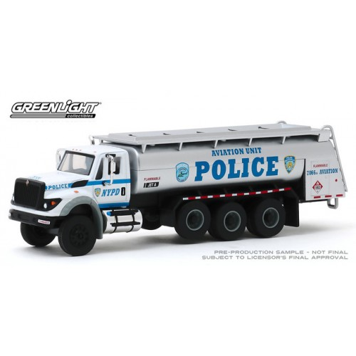 S.D. Trucks Series 9 - 2018 International WorkStar Tanker Truck NYPD