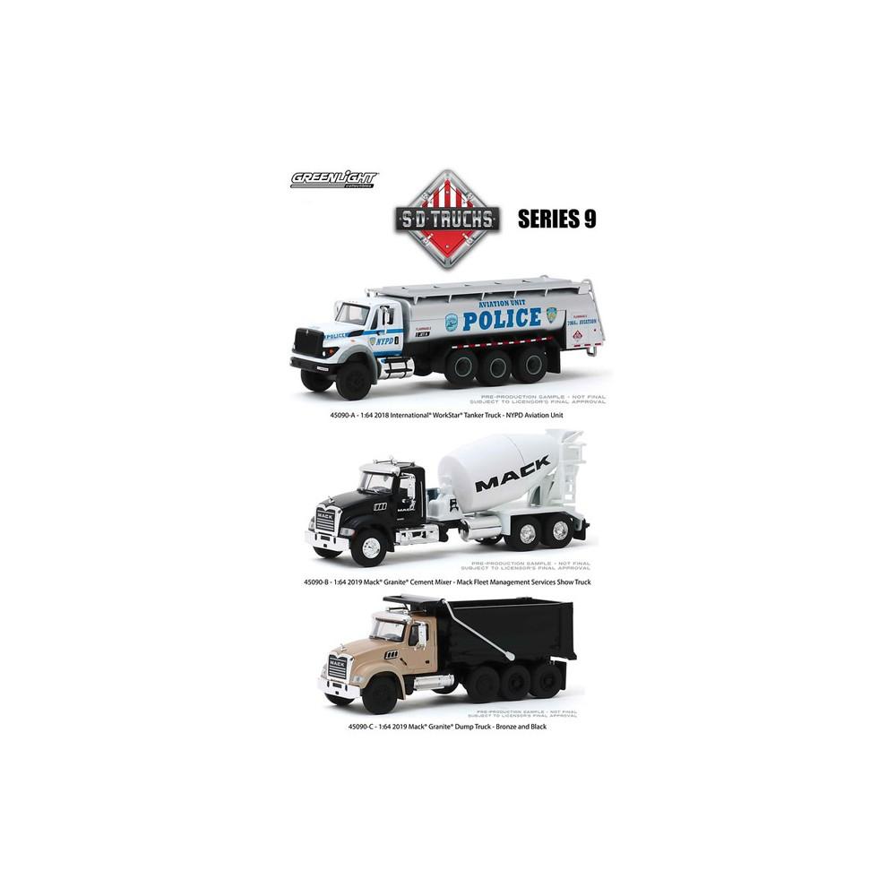 Greenlight S.D. Trucks Series 9 -  Three Truck Set