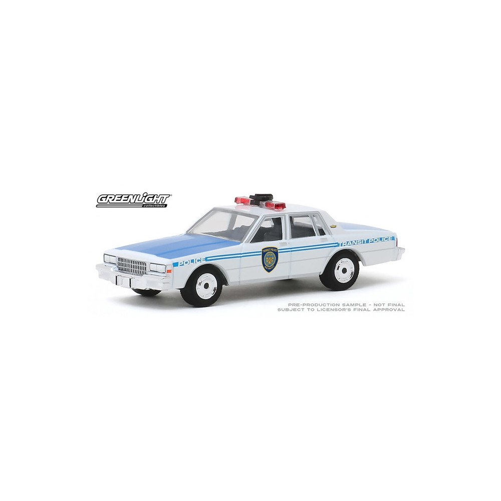 Greenlight Hobby Exclusive - 1989 Chevy Caprice NYC Transit Police Department