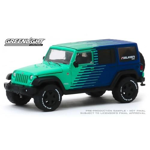 Greenlight Hobby Exclusive - 2017 Jeep Wrangler Unlimited Falken Tires