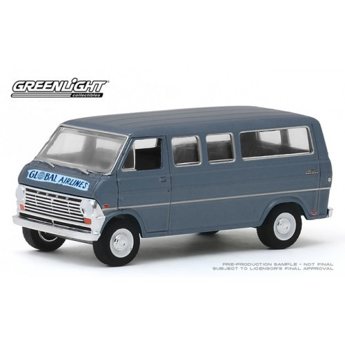 Greenlight Hobby Exclusive - 1969 Ford Club Wagon Global Airlines