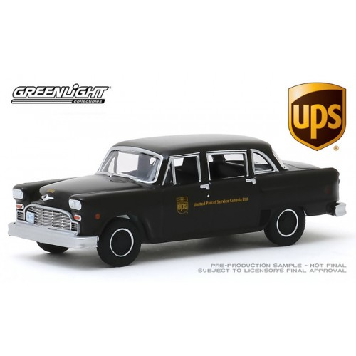 Greenlight Hobby Exclusive - 1975 Checker Parcel Delivery UPS Canada