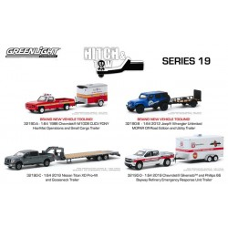 Greenlight Hitch and Tow Series 19 - Set