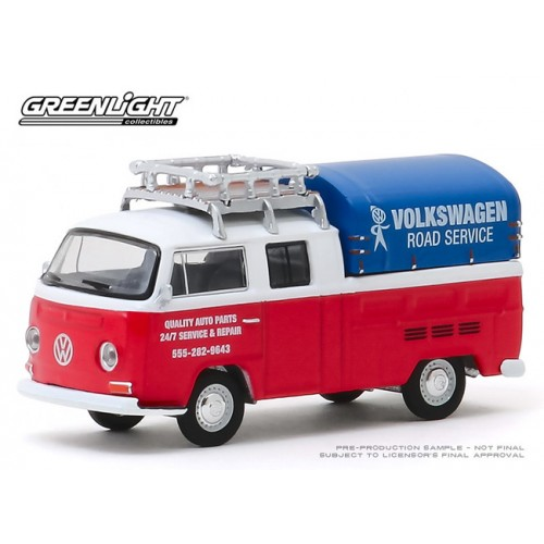 Greenlight Club V-Dub Series 10 - 1976 Volkswagen Type 2 Double Cab Pick Up