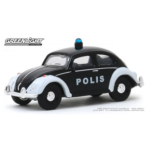 Greenlight Club V-Dub Series 10 - Classic Volkswagen Beetle Polis Car