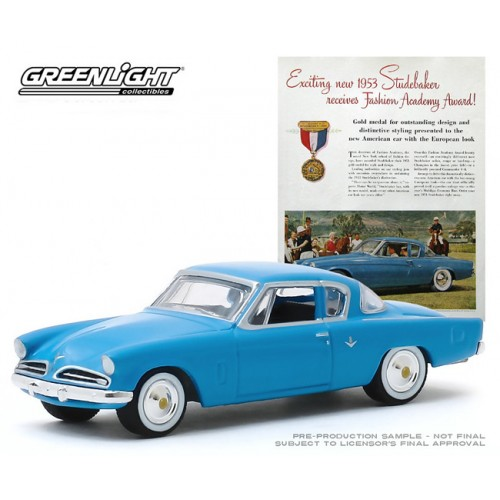 Greenlight Vintage Ad Cars Series 2 - 1953 Studebaker Champion