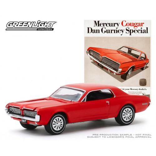Greenlight Vintage Ad Cars Series 2 - 1967 Mercury Cougar