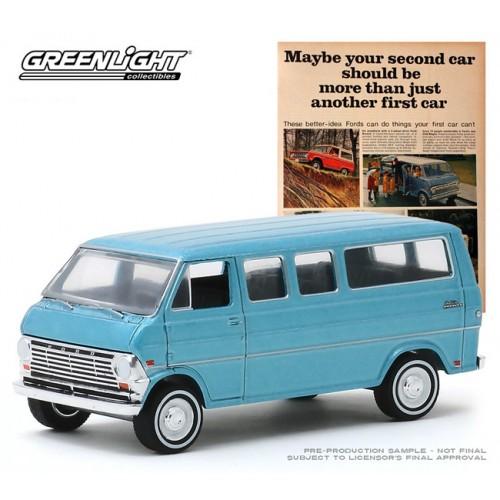 Greenlight Vintage Ad Cars Series 2 - 1968 Ford Club Wagon