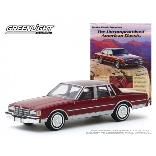 Greenlight Vintage Ad Cars Series 2 - 1986 Chevrolet Caprice