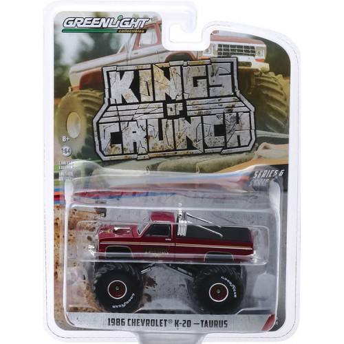 Greenlight Kings of Crunch Series 6 - 1986 Chevy K-20 Taurus