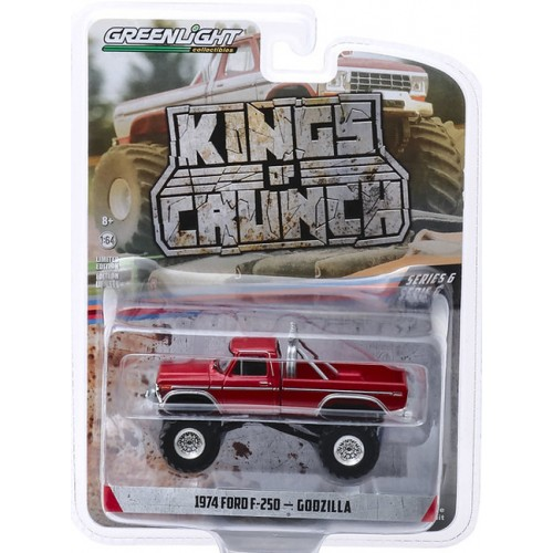 Greenlight Kings of Crunch Series 6 - 1974 Ford F-250 Godzilla