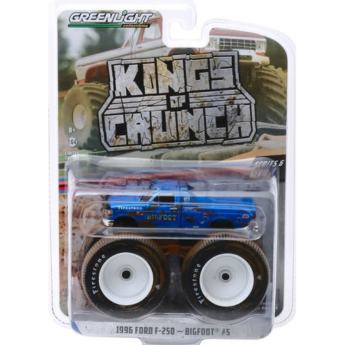Greenlight Kings of Crunch Series 6 - 1996 Ford F-250 Bigfoot 5 Dirty Version