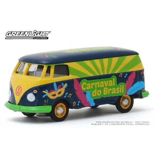 Greenlight Hobby Exclusive - Volkswagen Type 2 Van Carnaval Do Brasil 2020
