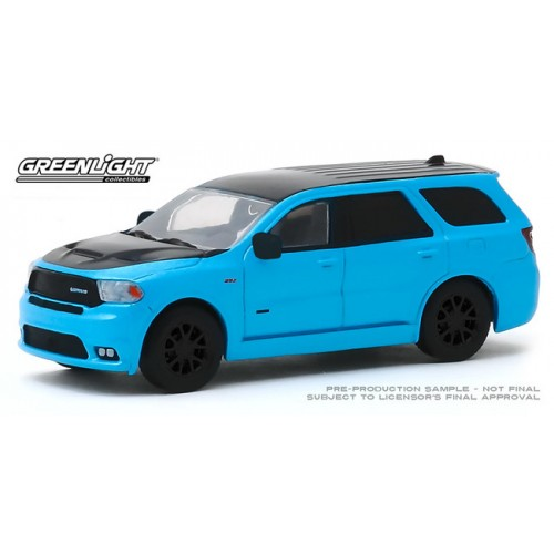 Greenlight Hobby Exclusive - 2018 Dodge Durango SRT Limited Edition Blue Pearl Coat