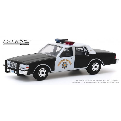 Greenlight Anniversary Collection Series 10 - 1989 Chevy Caprice California Highway Patrol