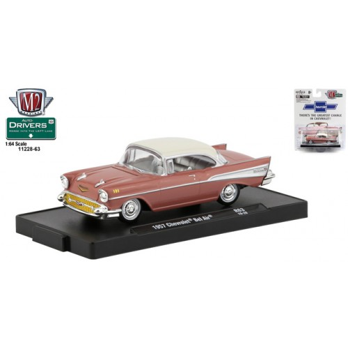 M2 Machies Drivers Release 63 - 1957 Chevrolet Bel Air