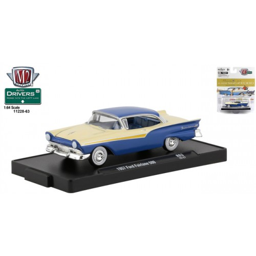 M2 Machines Drivers Release 63 - 1957 Ford Fairlane 500