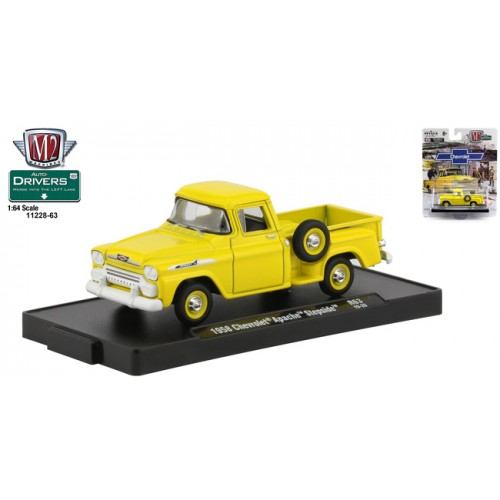 M2 Machines Drivers Release 63 - 1958 Chevy Apache Step Side