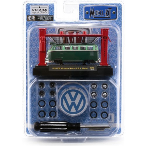 M2 Machines Model-Kits Release 26 - 1959 Volkswagen Microbus Deluxe