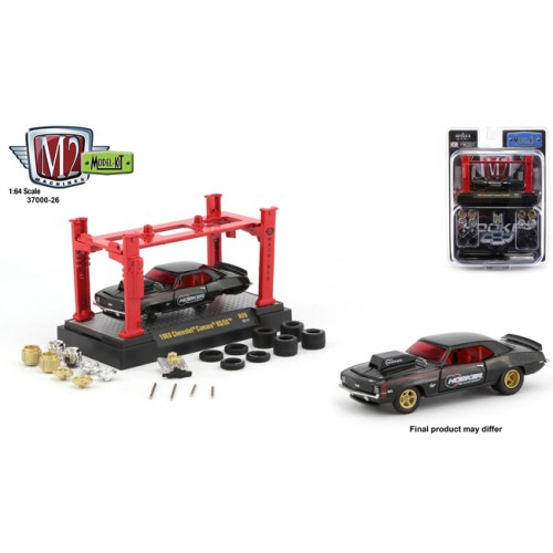 M2 Machines Model-Kits Release 26 - 1969 Chevy Camaro SS/RS