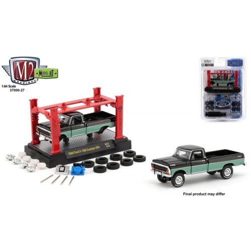 M2 Machines Model-Kits Release 27 - 1969 Ford F-100 Custom 4x4 Truck