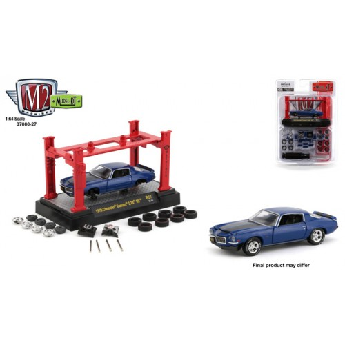 M2 Machines Model-Kits Release 27 - 1970 Chevy Camaro SS/RS