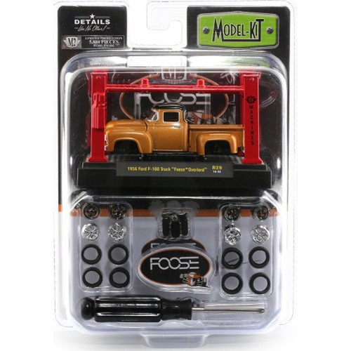 M2 Machines Model-Kits Release 28 - 1956 Ford F-100 Foose Design