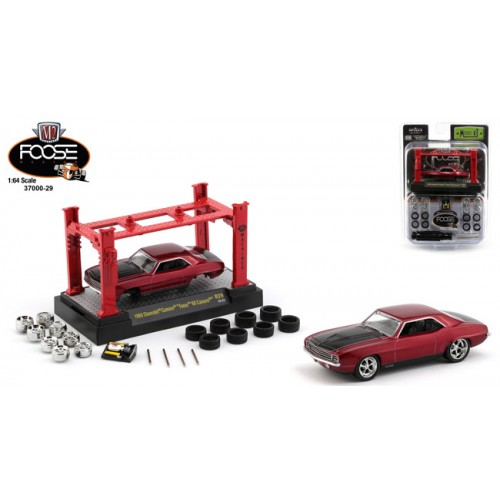 M2 Machines Model-Kits Release 28 - 1969 Chevy Camaro Foose Design