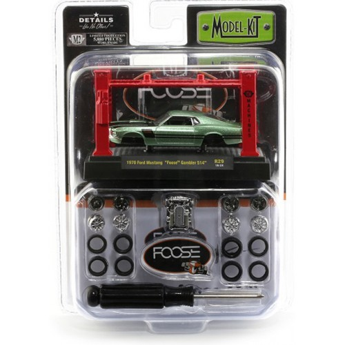 M2 Machines Model-Kits Release 28 - 1970 Ford Mustang Foose Design