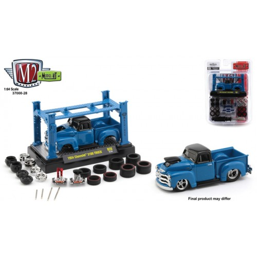 M2 Machines Model-Kits Release 28 - 1954 Chevy 3100 Truck