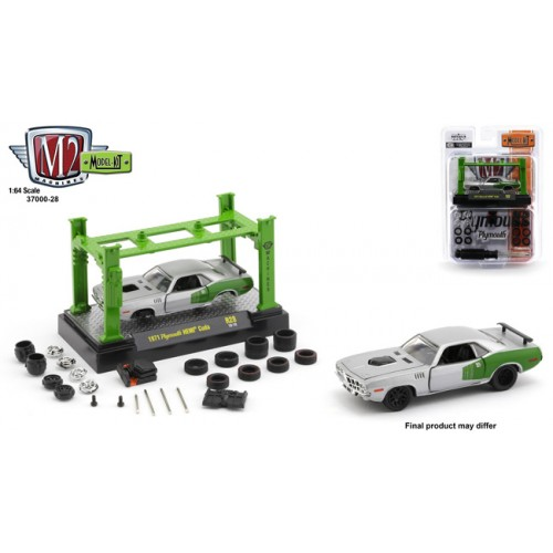 M2 Machines Model-Kits Release 28 - 1971 Plymouth Cuda HEMI