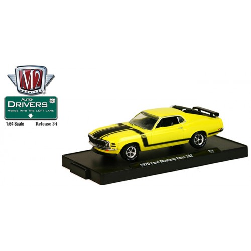 M2 Machines Drivers Release 34 - 1970 Ford Mustang BOSS 302