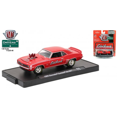 M2 Machines Drivers Release 40 - 1969 Chevy Camaro SS/RS