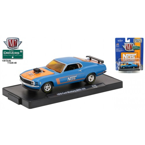 M2 Machines Drivers Release 40 - 1970 Ford Mustang BOSS 429