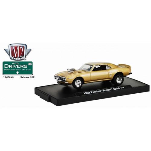 M2 Machines Drivers Release 18E - 1968 Pontiac Firebird Sprint