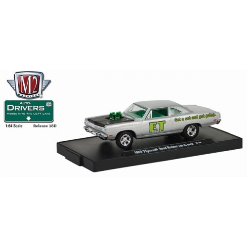 M2 Machines Drivers Release 18D - 1969 Plymouth Road Runner 440 6-Pack