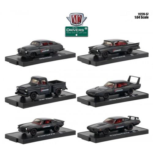 M2 Machines Drivers Release 57 - Six Car Set