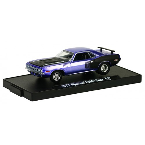 M2 Machines Drivers Release 26 - 1971 Plymouth HEMI Cuda