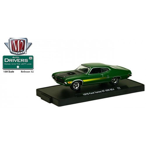 M2 Machines Drivers Releaes 32 - 1970 Ford Torino GT 429 SCJ