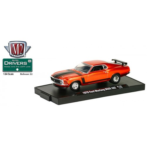 M2 Machines Drivers Release 22 - 1970 Ford Mustang BOSS 302