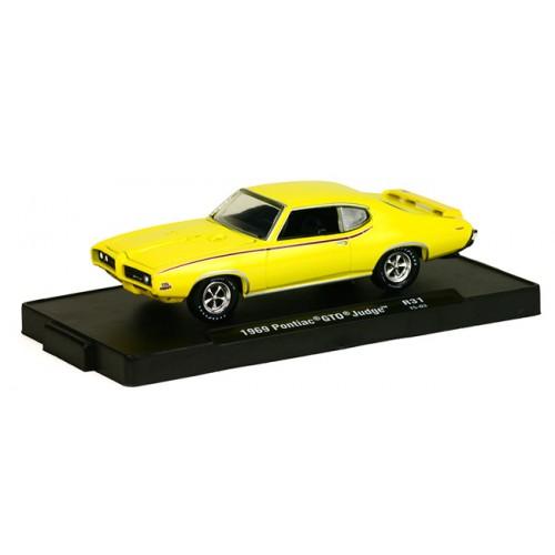 M2 Machines Drivers Release 31 - 1969 Pontiac GTO Judge