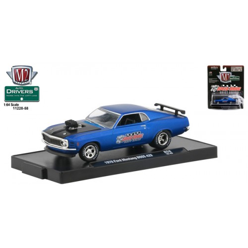 M2 Machines Drivers Release 58 - 1970 Ford Mustang BOSS 429