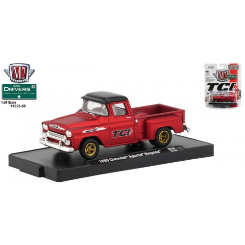 M2 Machines Drivers Release 58 - 1958 Chevy Apache Step Side Truck