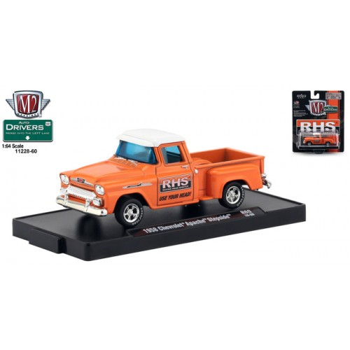 M2 Machines Drivers Release 60 - 1958 Chevrolet Apache Step Side